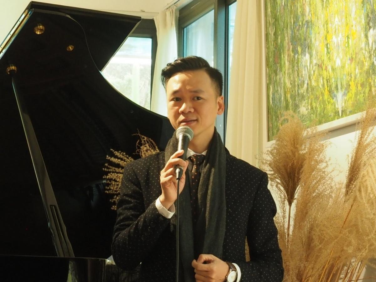 Nhạc sĩ Tuấn Nguyễn.
