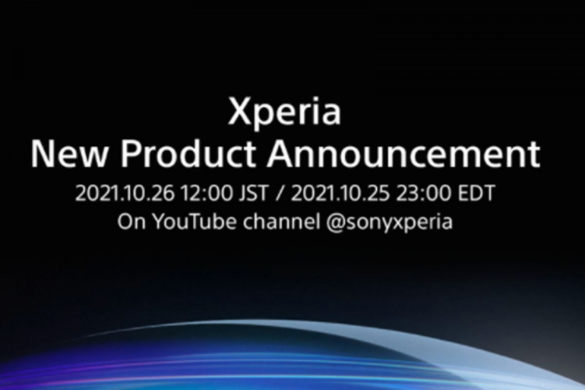 Nội dung thông báo sự kiện sắp tới của Sony.