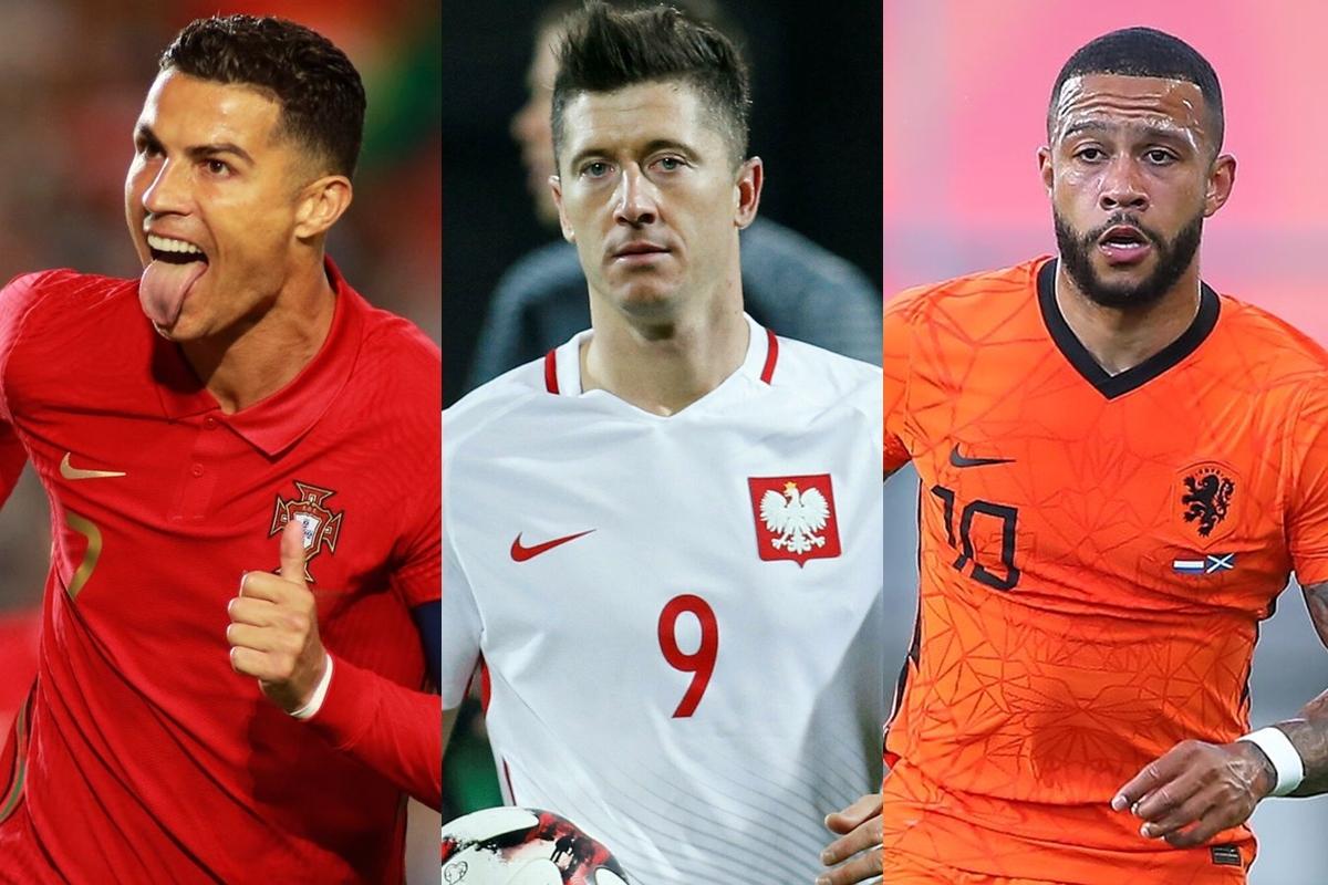 """Vua phá lưới vòng loại World Cup 2022 khu vực châu Âu: Ronaldo """"hít khói"""" Depay - Ảnh 2."""