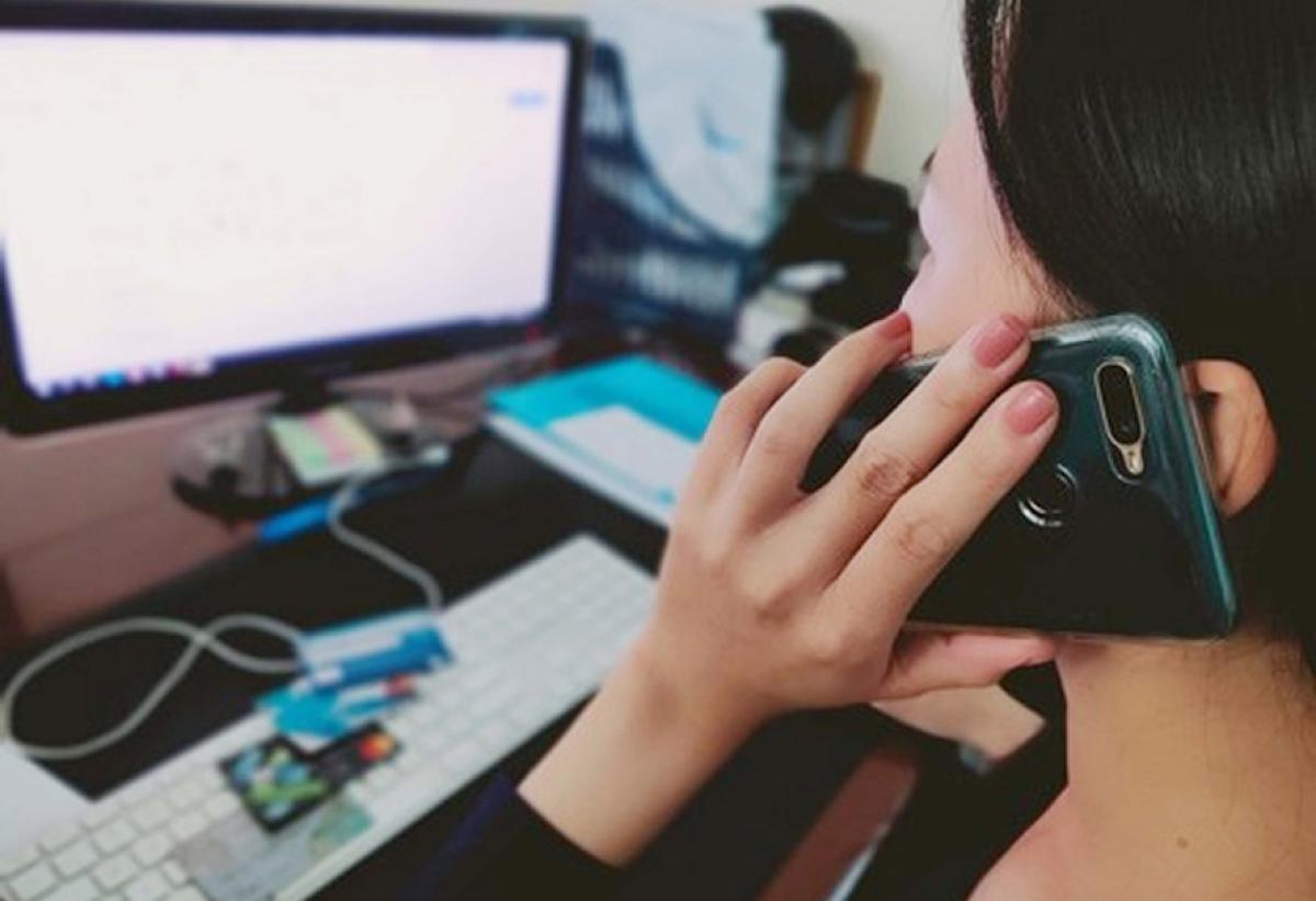 Nhiều trường hợp sập bẫy lừa từ các cuộc điện thoại giả mạo. (Ảnh minh hoạ)