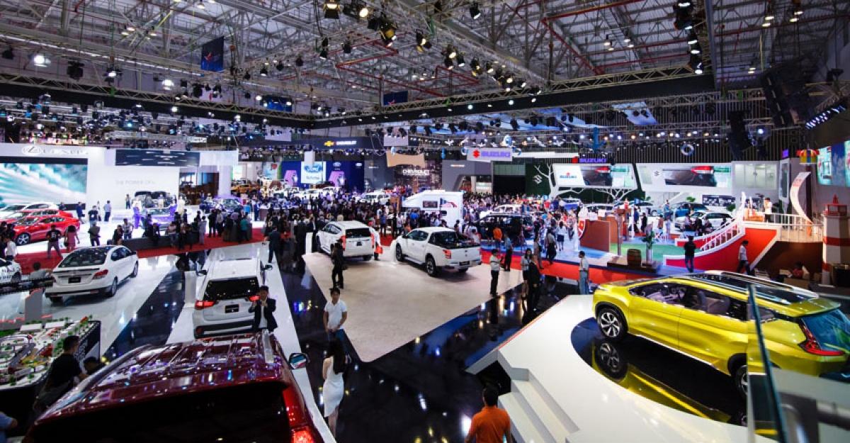 Triễn lãm ô tô Việt Nam 2021 sẽ được dời lịch tổ chức sang năm 2022.