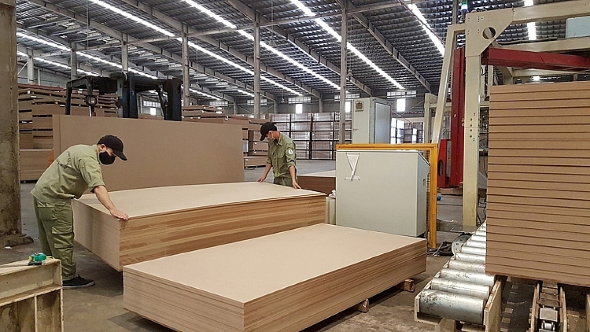 Wooden furniture is one of the export items benefiting significantly from the UKVFTA