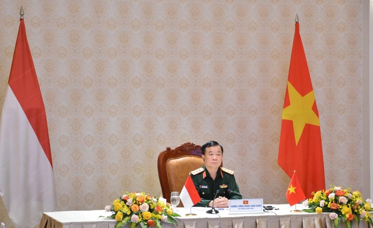 Sen. Lieut. Gen. Hoang Xuan Chien, Deputy Defence Minister of Vietnam. (Photo: qdnd.vn)