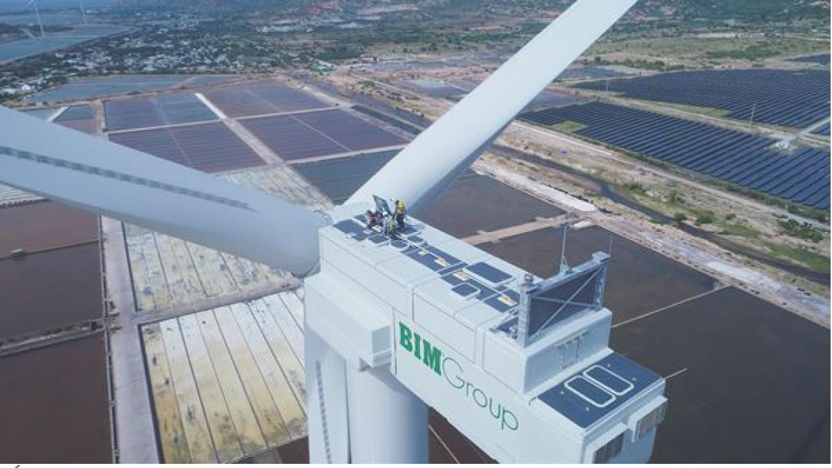 Nhà máy Điện gió BIM chính thức đi vào vận hành ngày 30/9/2021, chỉ sau 11 tháng triển khai.