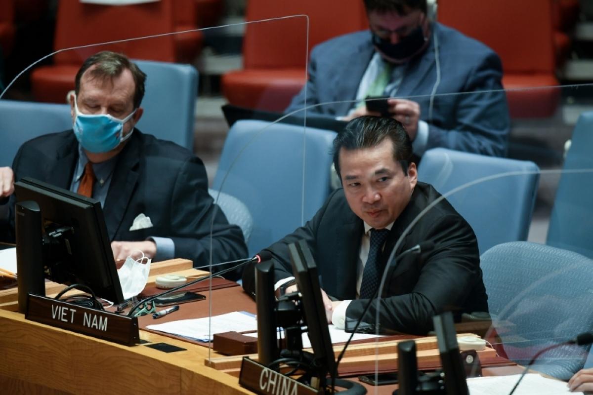 Đại sứ Phạm Hải Anh tham dự phiên họp của Hội đồng Bảo an về Abyei