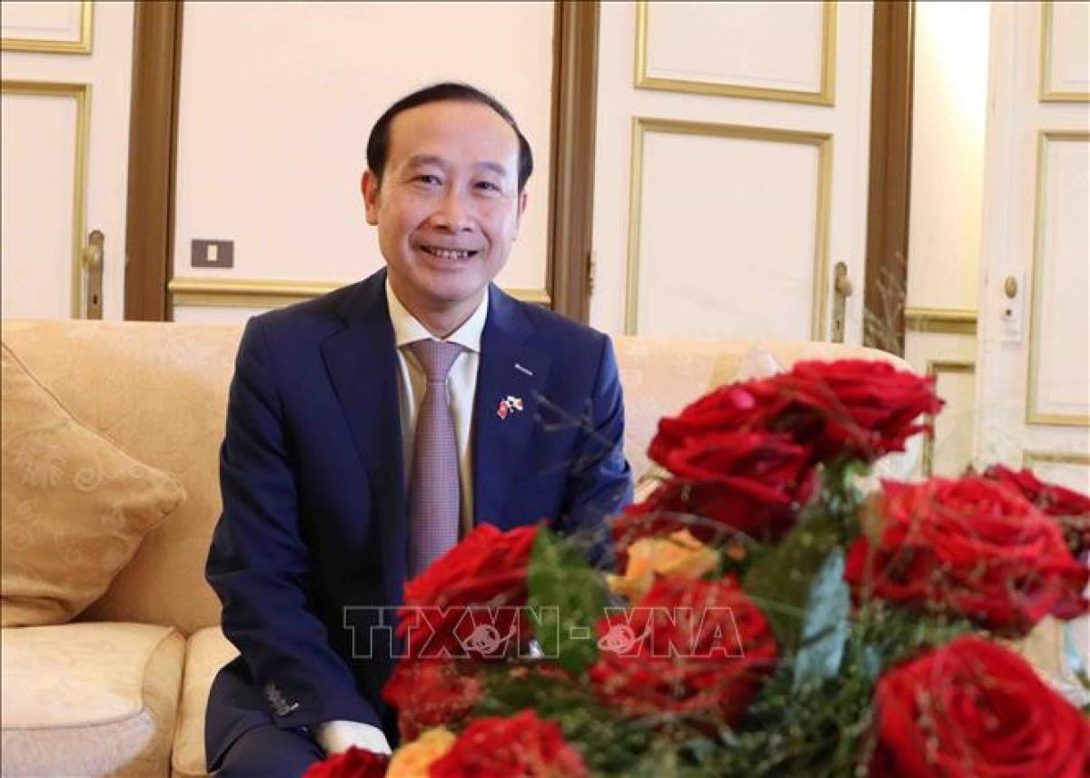 Vietnamese Ambassador to Belgium Nguyen Van Thao. (Photo: VNA)