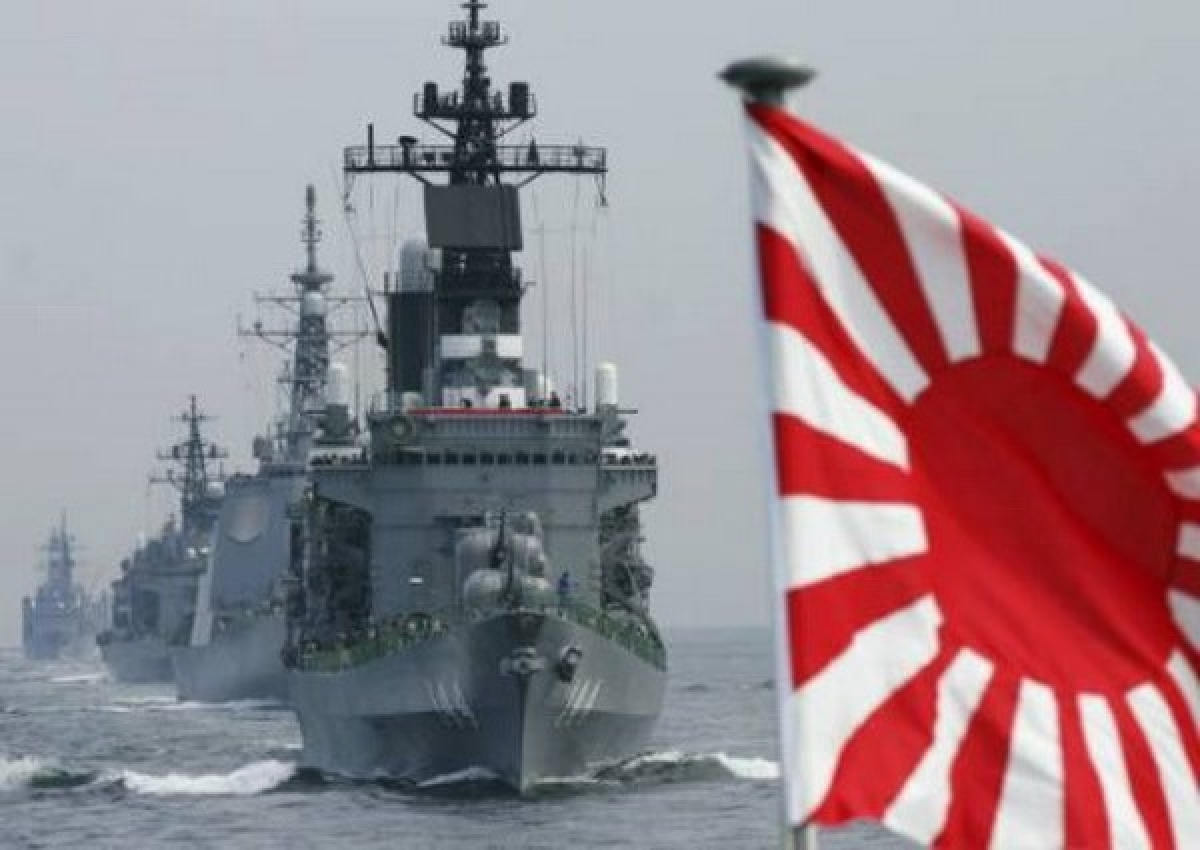 Các tàu chiến của Hải quân Nhật Bản. (Nguồn: marsecreview.com)