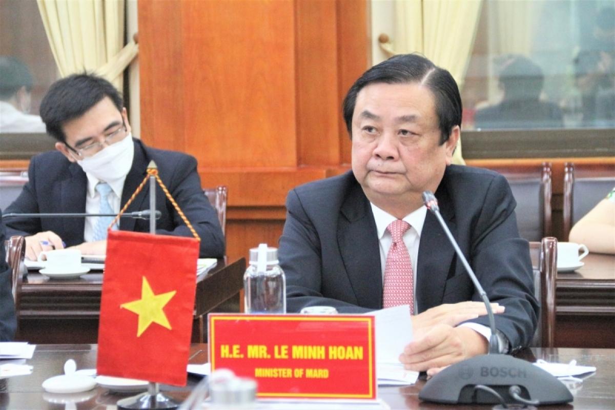 Bộ Nông nghiệp và Phát triển nông thôn Lê Minh Hoan