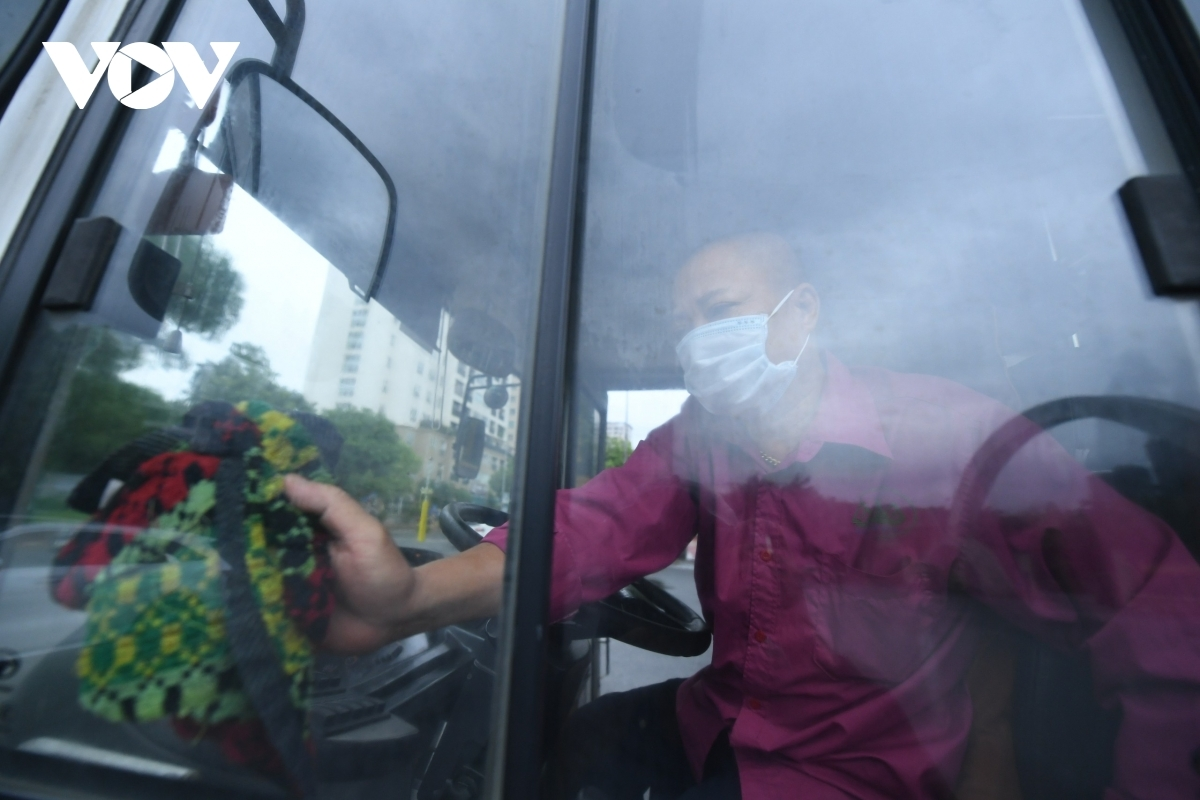 The driver is required to keep the bus clean in a bid to prevent the possible spread of the SARS-CoV-2 virus.