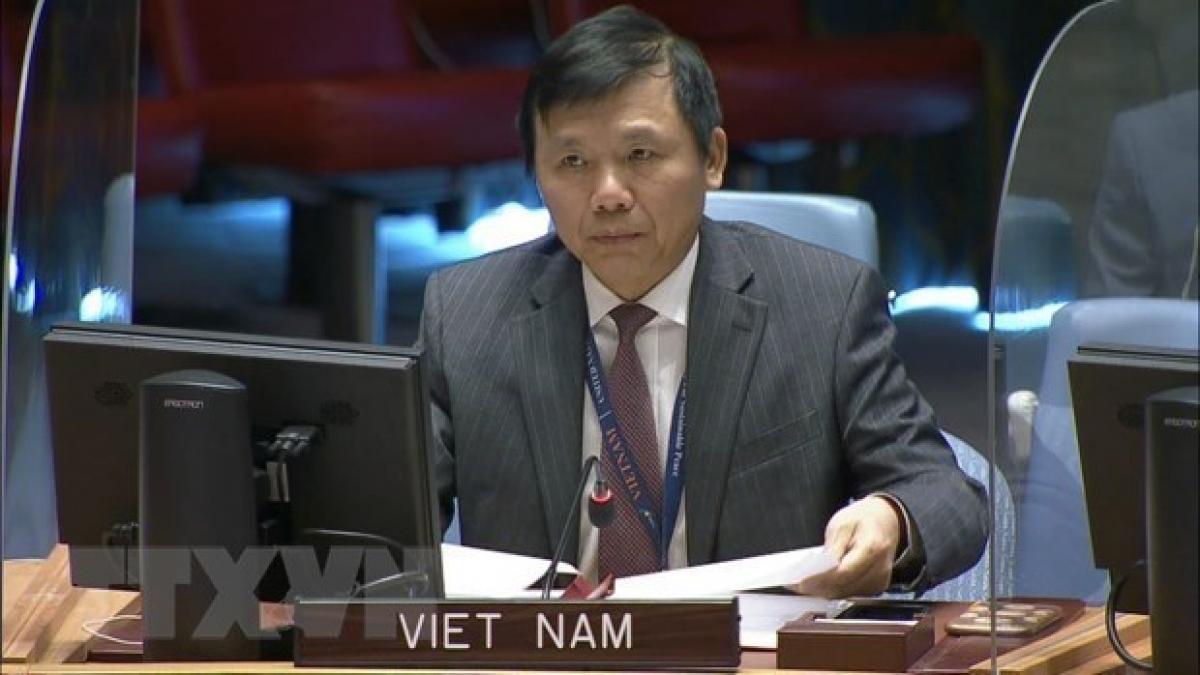 Ambassador Dang Dinh Quy, Permanent Representative of Vietnam to the UN. (Photo: VNA)