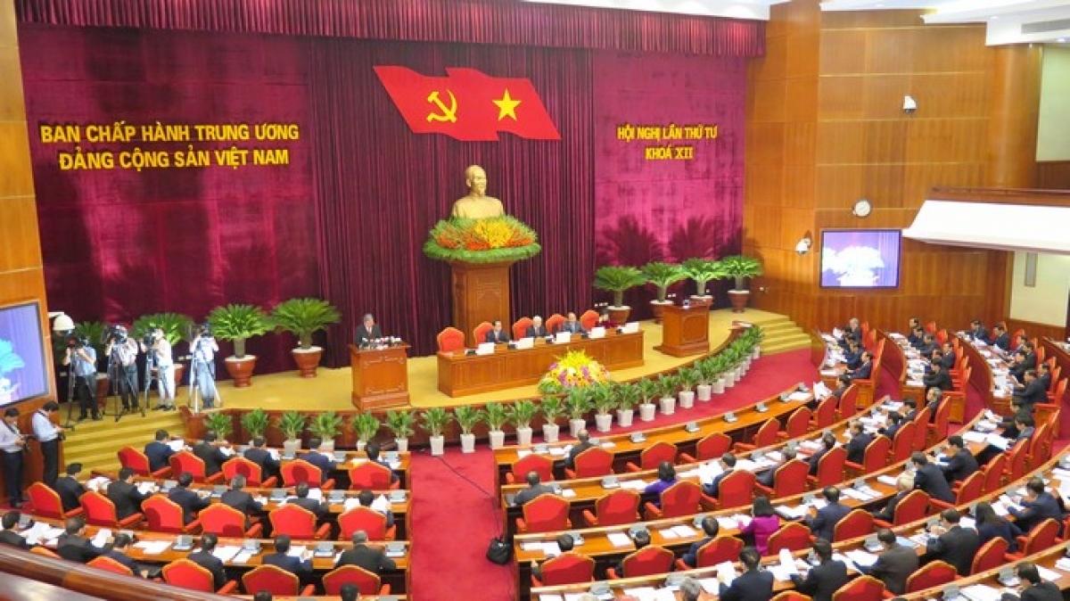 Hội nghị lần thứ 4 Ban Chấp hành Trung ương Đảng khóa XII.