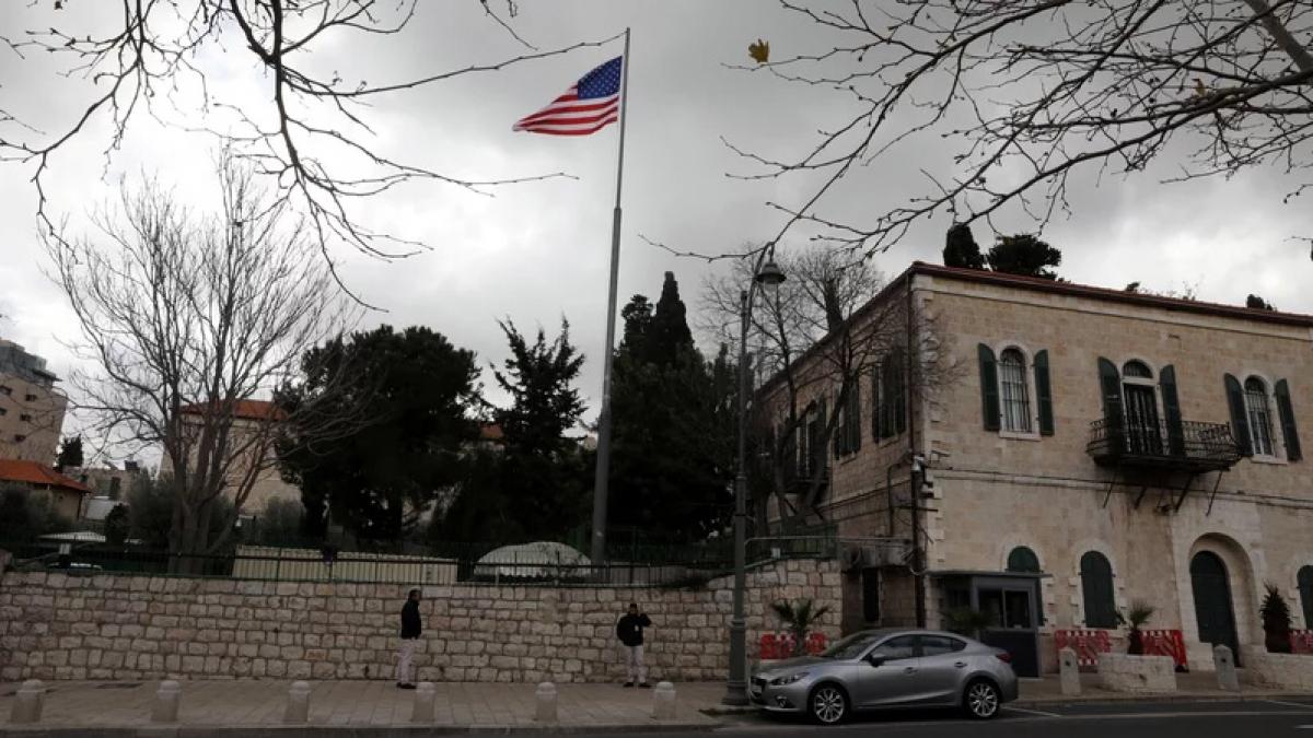 Mỹ sẽ tiến tới mở lại lãnh sự quán ở Jerusalem. Ảnh: Reuters