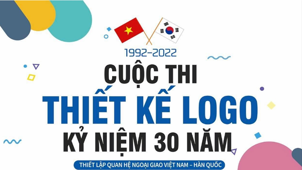 A logo deisng contest has been launched to mark 30 years of the Vietnam - RoK diplomacy.