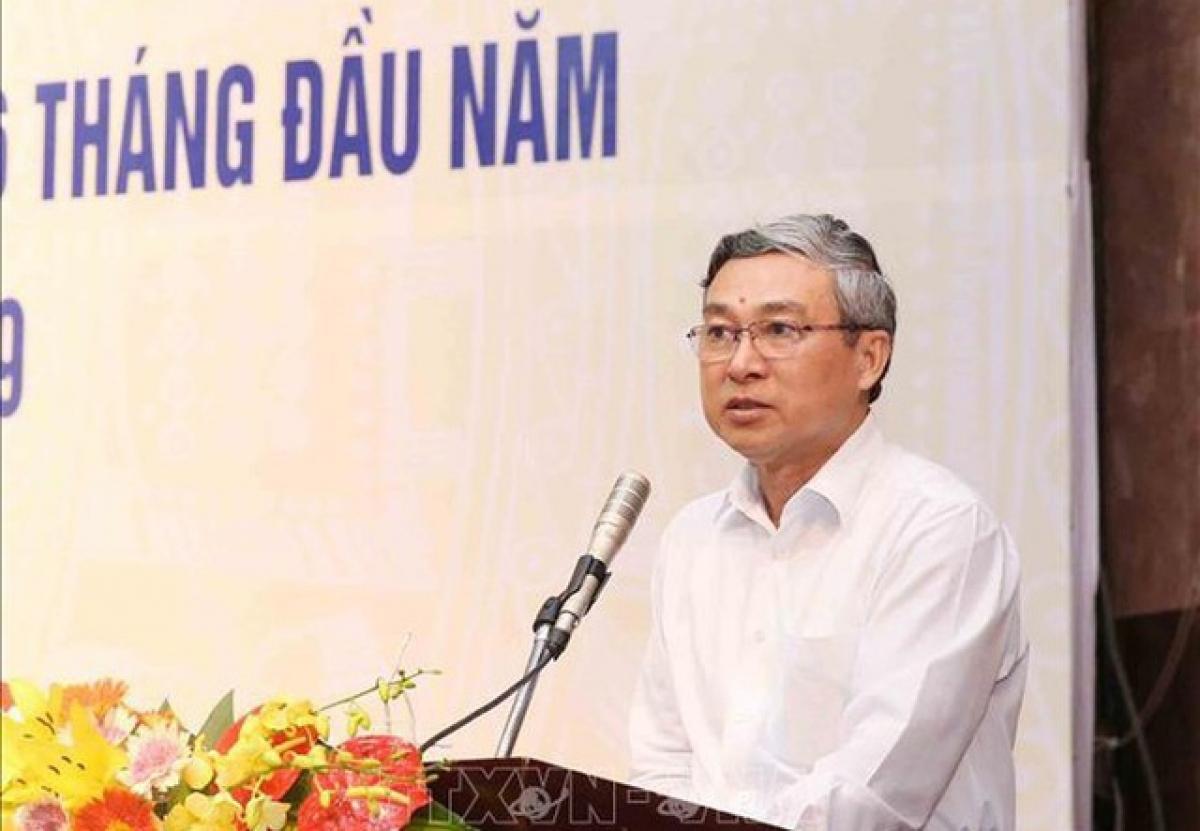 Ông Mai Trực, nguyên Phó Chủ nhiệm Ủy ban Kiểm Tra Trung ương. (Ảnh: TTXVN)
