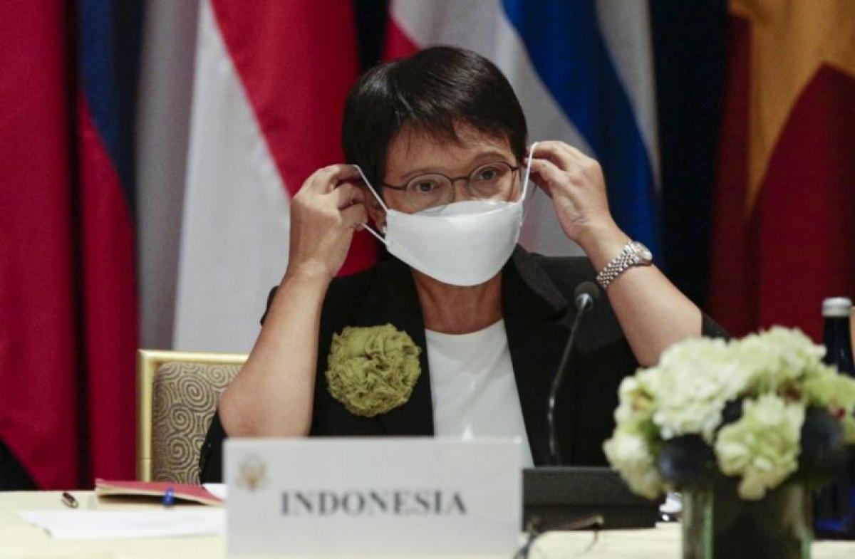 Ngoại trưởng Indonesia, bà Retno Marsudi. (Nguồn: Bộ Ngoại giao Indonesia)