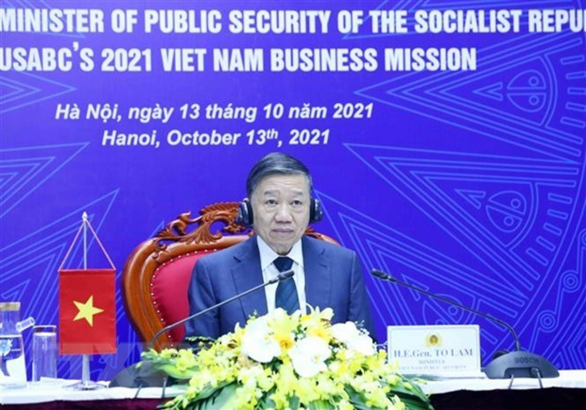 Minister of Public Security Gen. To Lamat the event