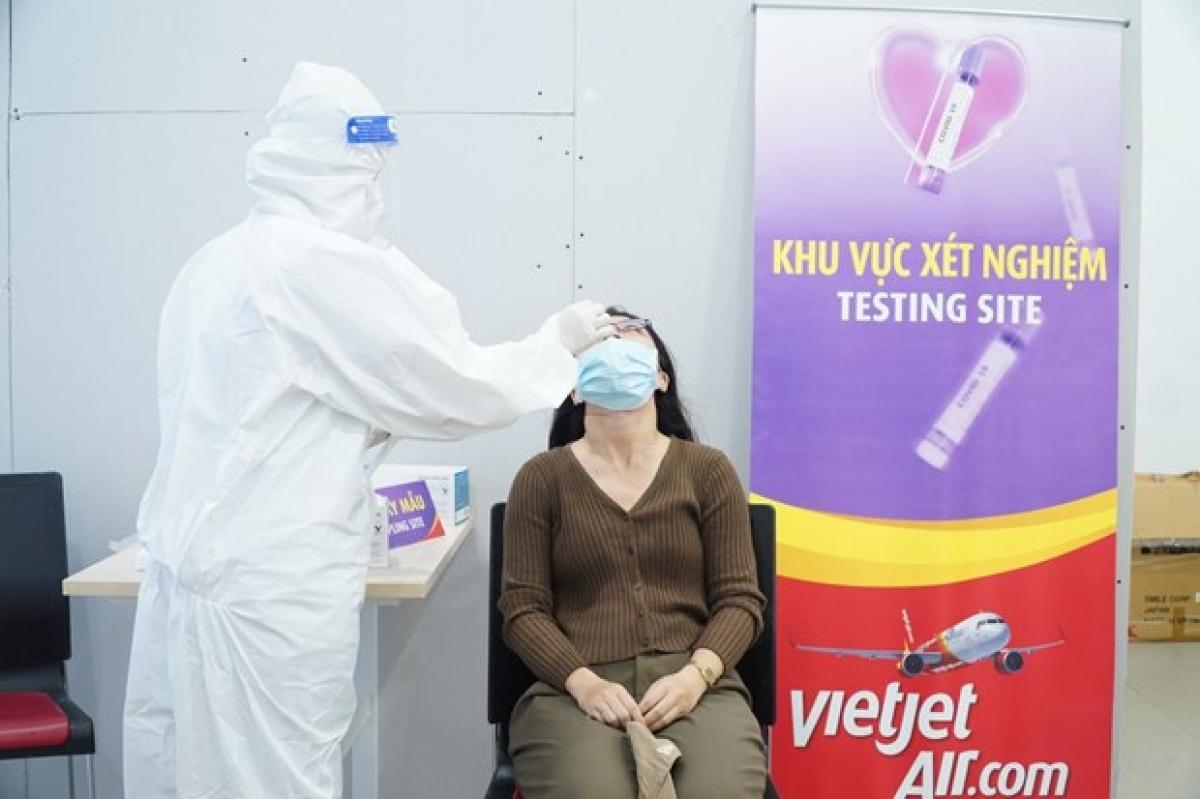 A testing site ofVietjet Air(Photo courtesy of Vietjet Air)