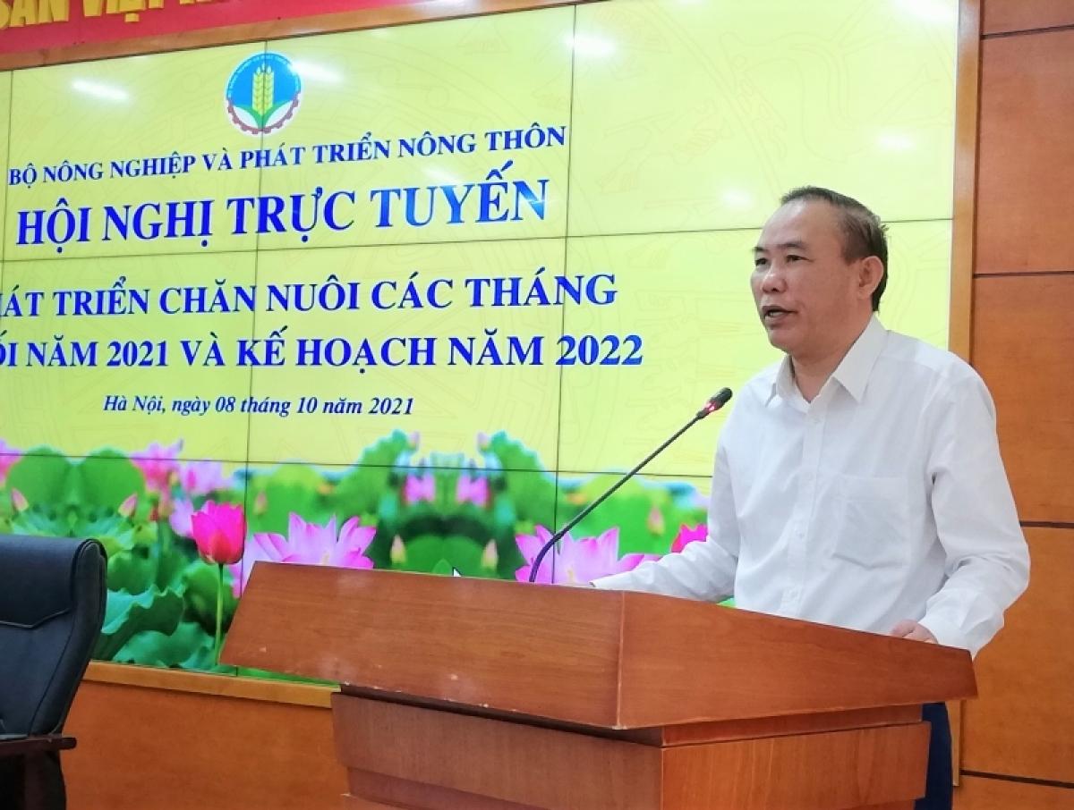 Thứ trưởng Phùng Đức Tiến phát biểu tại Hội nghị