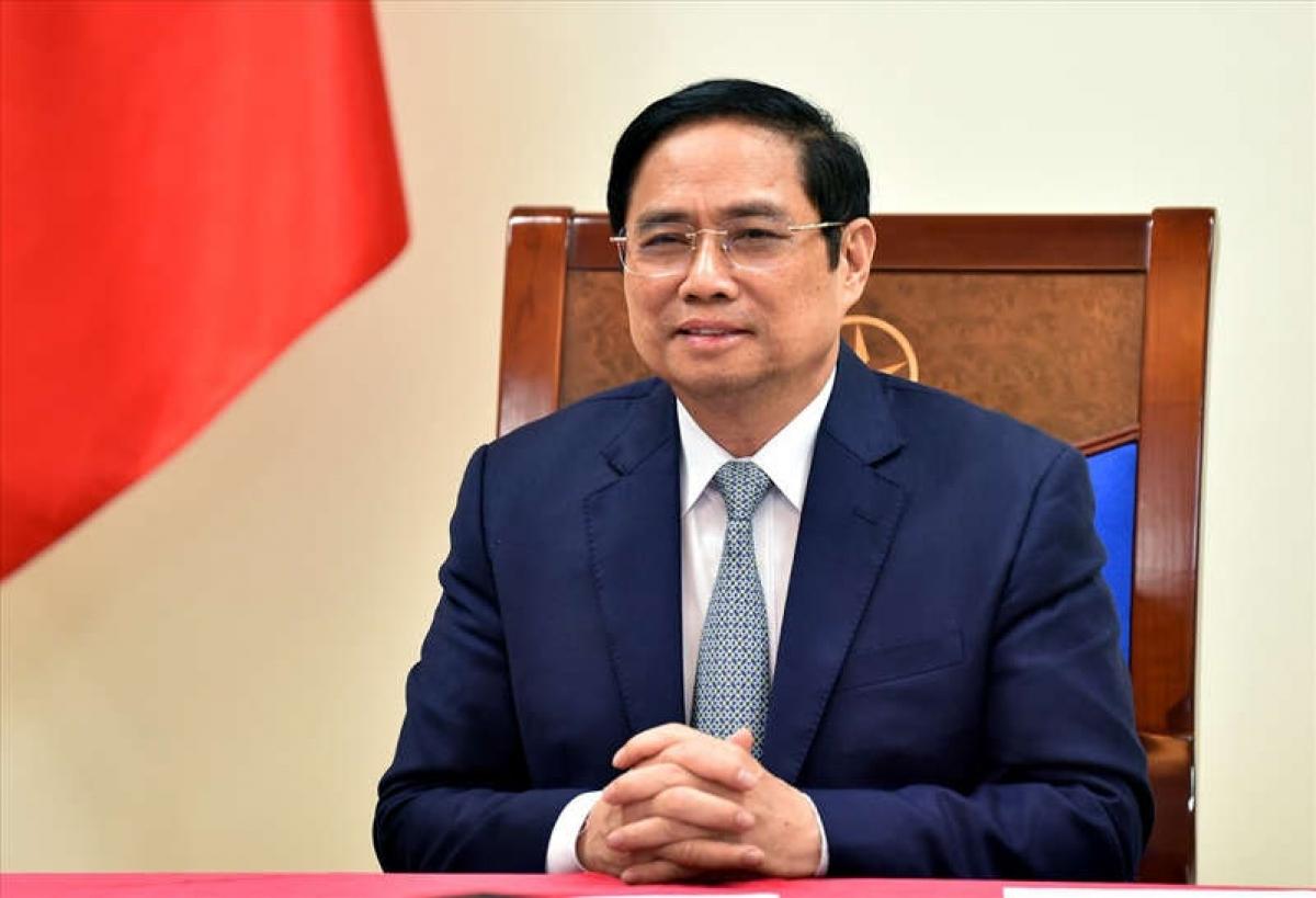 Prime Minister Pham Minh Chinh of Vietnam.