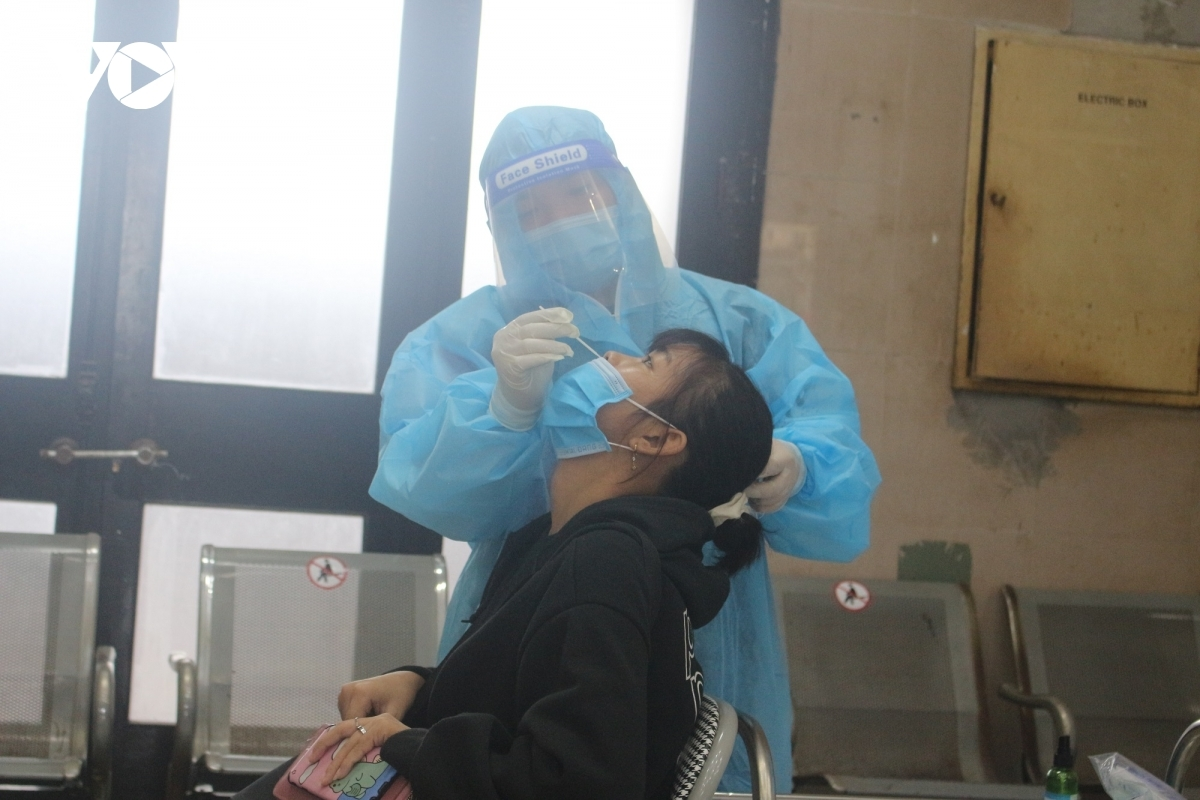 Those without the necessary certificates showing negative COVID-19 tests are required to undergo a rapid antigen tests at the railway station.