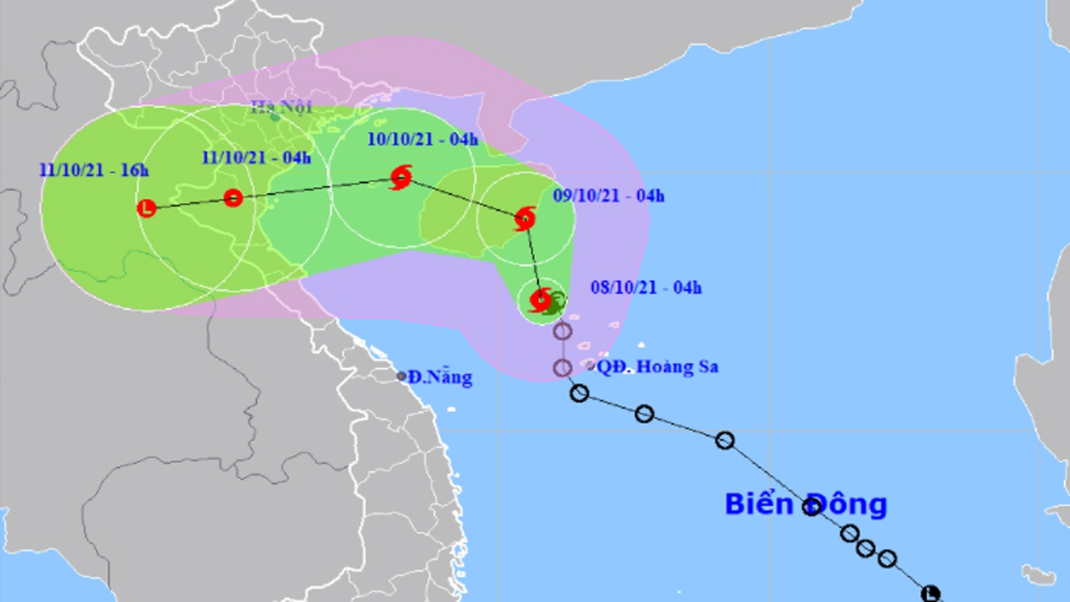 Storm Lionrock is expected to change its course before making landfall on October 11.