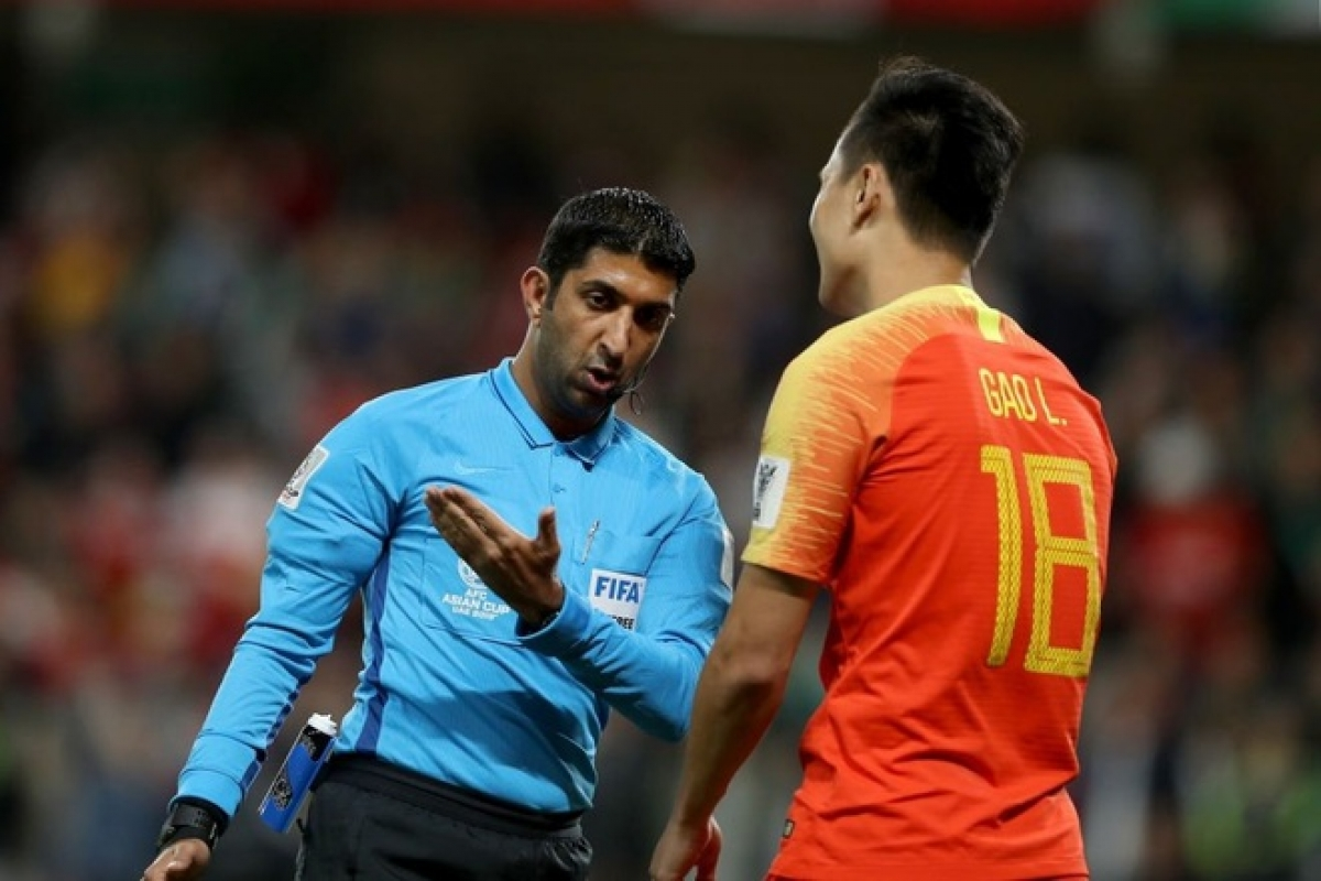 Referee Mohamed Abdullah Hassan willofficiate Vietnam match against China.