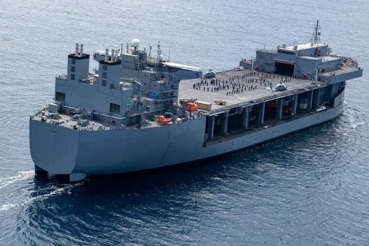 Tàu đổ bộ viễn chinh USS Miguel Keith của Mỹ (Ảnh: Quân đội Mỹ).