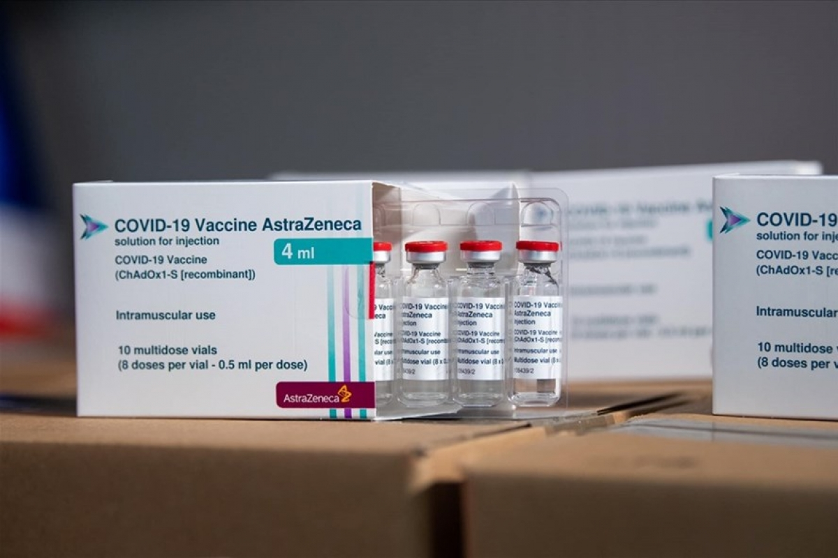 60,000 doses of AstraZeneca COVID-19 vaccine are presented to Vietnam by the Croatian Government (Photo: MoH)