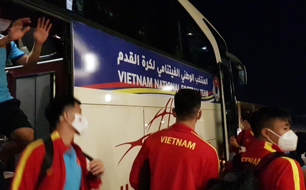 The players feel a bit tired after spending a sleepless night moving from Dubai to Muscat.
