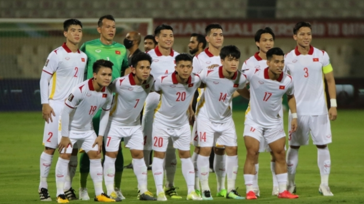 Vietnamese footballers are ready to face Oman in the October 12 World Cup qualifier.