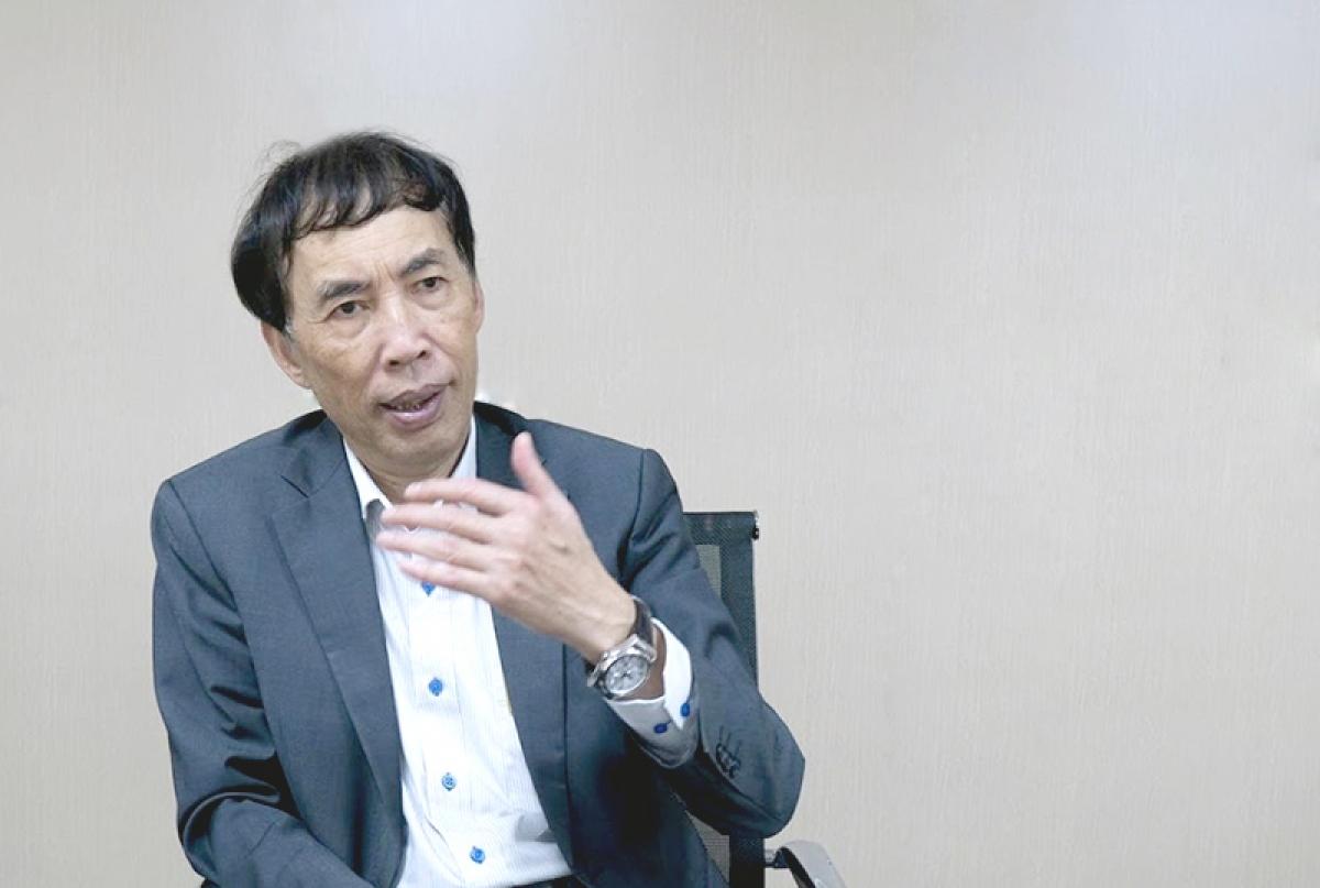Chuyên gia kinh tế Võ Trí Thành: Ảnh: Báo Đầu tư