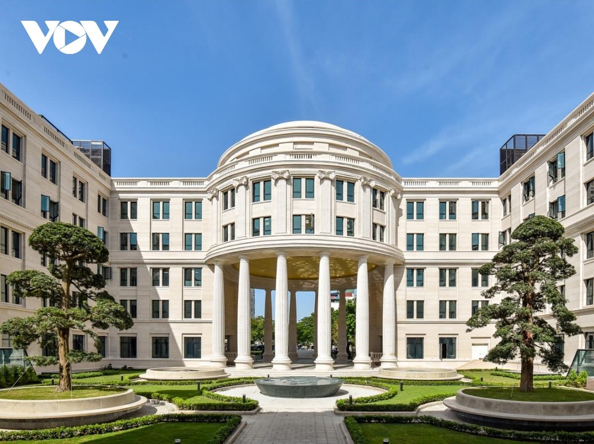 Trụ sở mới uy nghi của cơ quan xét xử cao nhất nước CHXHCN Việt Nam