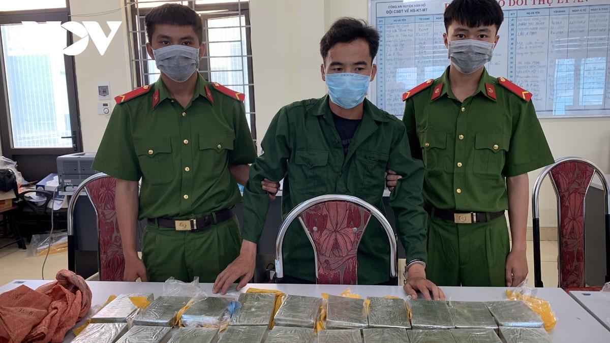 Sơn La bắt được 2 đối tượng vận chuyển ma túy, triệt phá 2 chuyên án lớn về ma túy