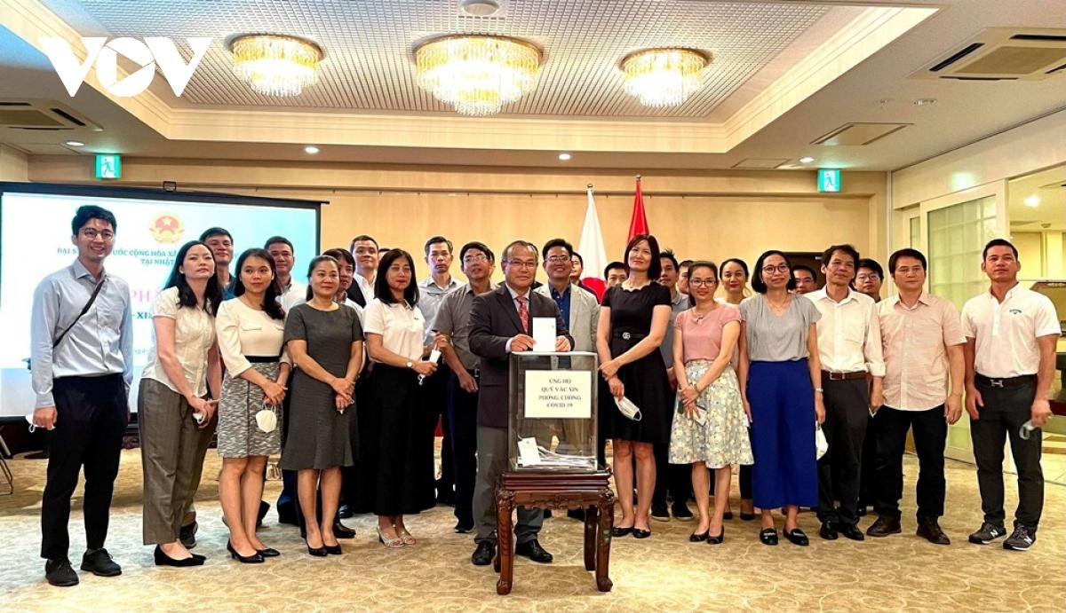 ĐSQ Việt Nam tại Nhật Bản phát động ủng hộ quỹ vaccine phòng chống Covid-19 - ảnh 2