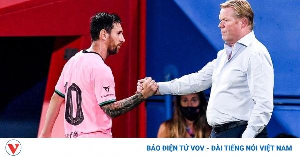 Sốc: HLV Koeman có thể chưa được chỉ đạo Barca  | VOV.VN