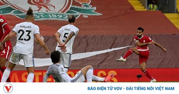 TRỰC TIẾP Liverpool 3 - 2 Leeds United: Siêu phẩm của Salah | VOV.VN
