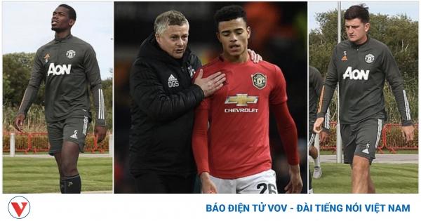TRỰC TIẾP MU 0 - 0 Crystal Palace: Bom tấn Van de Beek dự bị, Pogba - Fernandes đá chính | VOV.VN