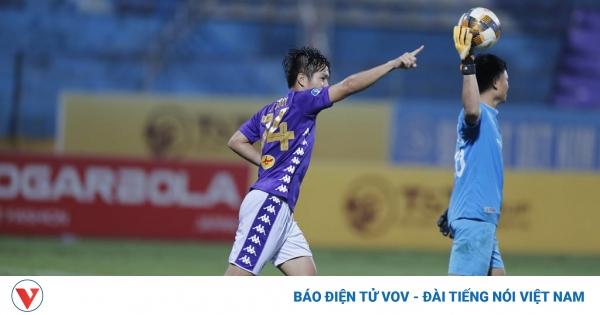 TRỰC TIẾP Viettel 1 - 1 Hà Nội FC: Siêu phẩm của Thái Quý quân bình tỷ số | VOV.VN