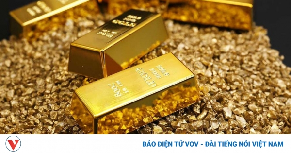 Giá vàng SJC tăng nhẹ, cao hơn thế giới 2,15 triệu đồng/lượng | VOV.VN