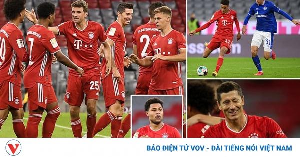 Tường thuật Bayern Munich 8-0 Schalke 04: Vòng 1 Bundesliga