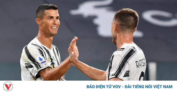 Ronaldo rực sáng, Juventus thắng tưng bừng trận ra mắt của HLV Pirlo  | VOV.VN