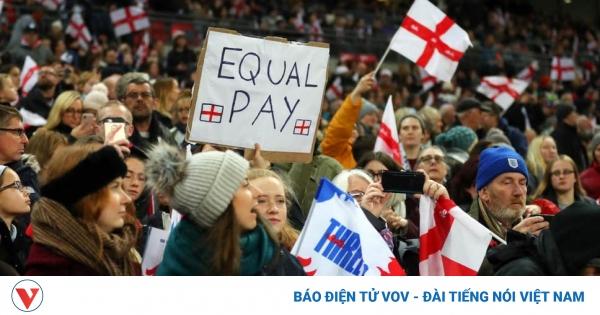 Anh, Brazil đồng loạt tăng thù lao cho ĐT bóng đá nữ    VOV.VN