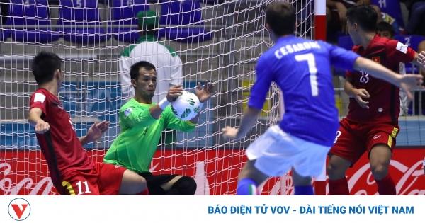 Ngày này năm xưa: ĐT Futsal Việt Nam lần đầu vượt qua vòng bảng World Cup  | VOV.VN