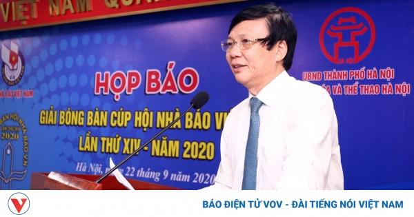 208 VĐV tranh tài ở Giải Bóng bàn Cúp Hội Nhà báo Việt Nam năm 2020 | VOV.VN