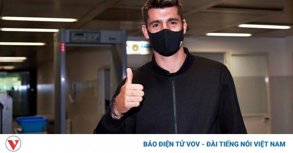 Alvaro Morata tái hợp với Juventus theo bản hợp đồng cho mượn