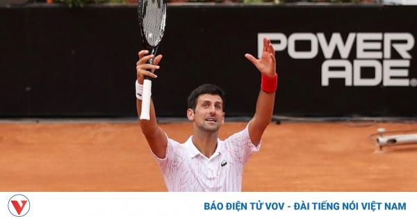 Djokovic rộng cửa qua mặt Nadal về số danh hiệu Masters 1000  | VOV.VN