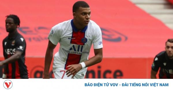 Nice 0-3 PSG: Bay trên đôi cánh Angel Di Maria - Kylian Mbappe | VOV.VN