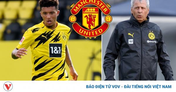 HLV Dortmund dội gáo nước lạnh cho MU trong thương vụ Sancho | VOV.VN