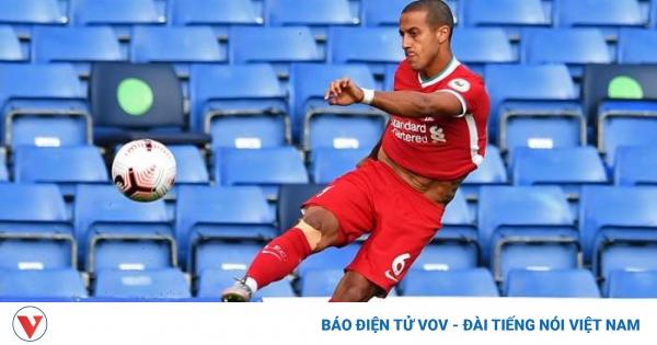 Thiago lập kỷ lục ấn tượng ở trận ra mắt Liverpool | VOV.VN