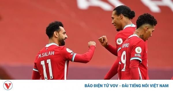 TRỰC TIẾP Liverpool 2 - 1 Leeds United: Van Dijk lập lại trật tự | VOV.VN